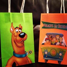 Scooby Doo Favor Goody bags by CleverCreations112 on Etsy, $27.99