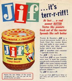 Rosefield began producing peanut butter under the Skippy label, and created the first crunchy-style peanut butter two years later. Description from flattdesigns.com. I searched for this on bing.com/images