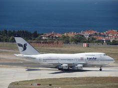 Iran Air Boeing 747SP Persian Gulf EP-IAA:ISTANBUL AIRSIDE Iran Air, Persian, Istanbul, Persian People, Persian Cats, Persian Language