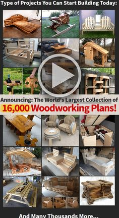 """""""There's NOTHING ELSE Like These Plans on the Market Today"""" #woodworking…"""
