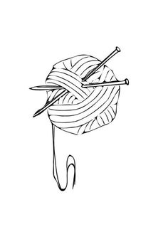 yarn coloring pages free printable - 531×750