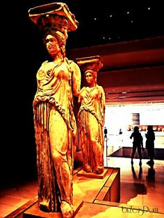 Karyatides, Athens National Museum