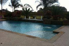 pools backyards forward backyard amenities water feature baytown tx