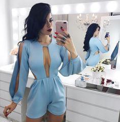 "7,565 Likes, 48 Comments - Vanessa Martins Borellii (@vanessaborellii) on Instagram: ""Muito amor    @credencialx - - - - #tendencia #vestido #dress #nails #body #bodysuit #jumpsuit…"""