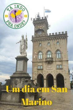 O que fazer em um dia em San Marino (saindo de Bolonha), um dos menores países do mundo, encravado na Itália! Muitas dicas práticas sobre San Marino também.