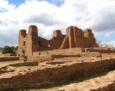 Salinas Pueblo Missions National Monument, New Mexico