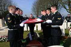 Military honours for Canadian soldier at La Chaudiere Military Cemetery Canadian Soldiers, Canadian Army, Military Cemetery, January 10, Military Police, Afghanistan, First World, World War, Canada