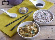 receta pollo al curry