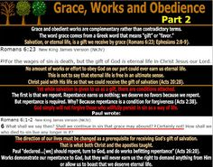 They follow the Lamb wherever he goes: Grace, Works and Obedience - Part 2