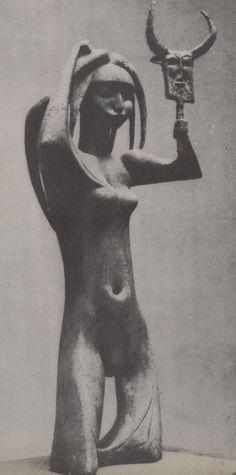 Iraqi art - Khaled al Rahal 1926  woman on her wedding night