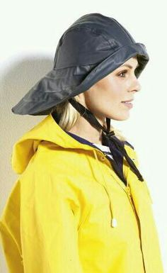 6e0b73d6b78 Rain Hats · Yellow pvc Yellow Raincoat