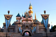 Sleeping Beauty Castle at Disneyland Resort