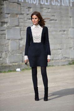 Valentino dress, Azzedine Alaia boots, Wolford tights. Christine Centenera style file. Vogue Australia