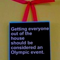 So true at our house!