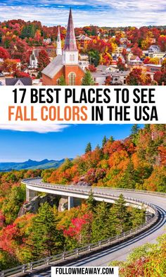 17 Places To See Vibrant Fall Foliage In The USA | fall in the USA | fall travel destinations usa | fall travel usa | fall usa | fall in usa | fall trips usa | usa fall destinations | fall foliage trips | best fall foliage trips | northeast fall foliage trip | usa fall travel | fall trips in america | places to visit in fall usa | fall usa travel | #falltravel #fallfoliage #usatravel