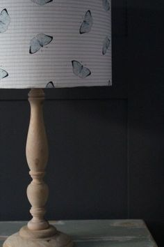 Butterfly Drum Lampshade