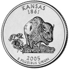 Kansas State Quarter, 2005                                                                                                                                                                                 More