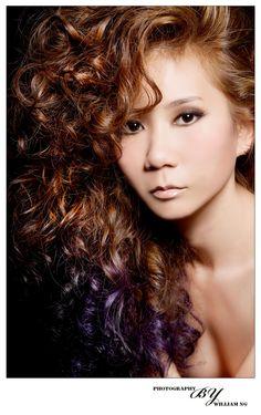 Model : Mookie Sze // Make-up : Dayson Saw // Hair : Jason Chu ( Hairesources )