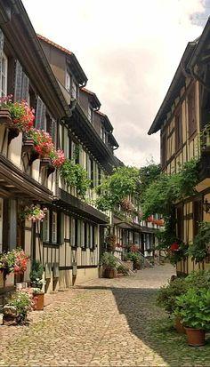 Medieval Gengenbach, Germany (by Martien Uiterweerd)
