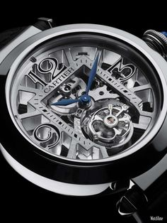 Pasha Skeleton Tourbillon