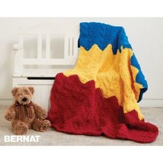 Bernat 1-2-3 Blanket to Crochet