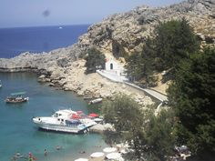 St Pauls Bay Lindos- Rhodes - we got married here :o)