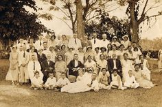 Mac McKay's many years in Samoa meant that he got to know a large proportion of the European and German residents of the islands. He was on first name terms with most. This photo of guests at the wedding of Fritz Stunzner Jnr and Sylvia Syddall on 7 October 1933 shows Mr McKay (third from left in back row) as the only invitee from the New Zealand Administration (apart from Kurt Hufnagel-Betham who was a relative of the groom).