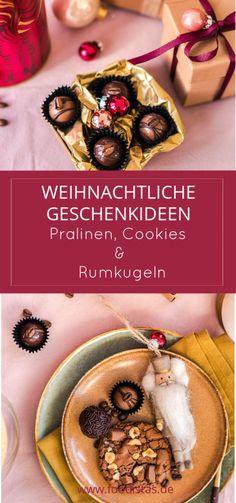 kulinarische Geschenkideen zu Weihnachten, Pralinen mit Kaffee › foodistas.de