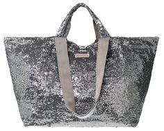 Shopper fancy silver anthrazit bigger von brasi & brasi