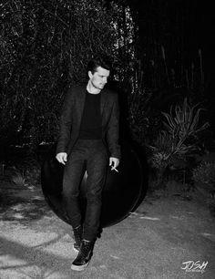 Josh Hutcherson for Flaunt Magazine
