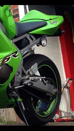 Kawasaki ZX6R #kawasaki #ninja