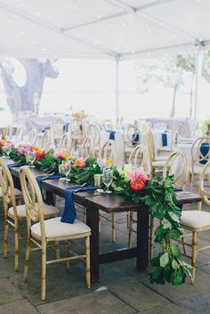 pops of color for this Charleston Wedding  Floras- Branch Design Studio…