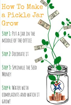 Steps on How to Make a Pickle Jar Grow. Find out more about the Pickle Pledge here: http://lnkd.in/sGtY53