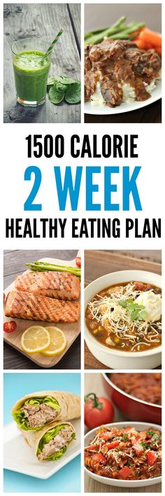 1500 Calorie 14-Day Healthy Eating Plan on Tone-and-Tighten.com