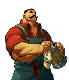 Brutish Barkeeper