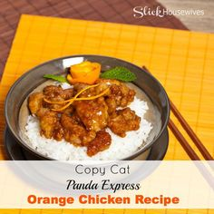 Copy Cat Panda Express Orange Chicken Recipe