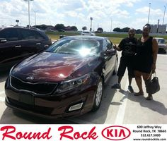 Congratulations to Vashon Eswards on your new car  purchase from Rudy Armendariz at Round Rock Kia! #NewCar