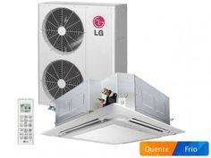 Ar-Condicionado Cassete LG Quente/Frio - 51.000 BTUs LT-H512MLE0 Controle Remoto e Timer