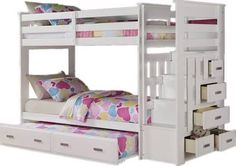 twin bunk bed with trundle - Google Search