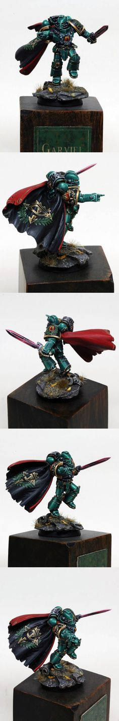 Spacemarines who point at their enemy are popular lately on Pinterest.