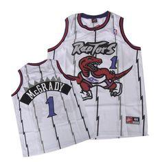 7f16914c2 Raptors  1 Tracy McGrady White Swingman Embroidered NBA Jersey! Only   20.50USD