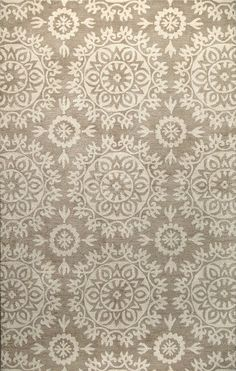 Norwalk Taupe Floral Area Rug Rugs / Area Rugs : More At FOSTERGINGER @ Pinterest
