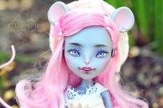 Custom Monster High Dolls, Monster High Repaint, Custom Dolls, Doll Repaint, Fairy Dolls, Ooak Dolls, All Art, Disney Characters, Fictional Characters