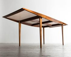 Dining Table by Martin Eisler, 1950s | From a unique collection of antique and modern dining room tables at https://www.1stdibs.com/furniture/tables/dining-room-tables/