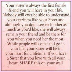Sisters (love you April, Rhonda and Dawnyell)