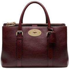 See this and similar Mulberry tote bags - This elegant style is inspired by Mulberry icon Bayswater, and shares the same signature lock detailing. Ideal for org...