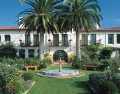Four Seasons Biltmore Santa Barbara, California ....another fun place for Sunday brunch or afternoon tea....