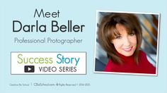 Meet Darla Beller who's a professional #photographer and fellow #creative #entrepreneur!  Click over to listen to our video chat!