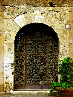Medieval Door by EdSalz, via Flickr