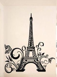 Sketch from Sony Torre Eiffel Vector, Torre Eiffel Paris, Eiffel Tower Painting, Eiffel Tower Art, Paris Party, Paris Theme, Paris Decor, Doodle Wall, Paris Rooms